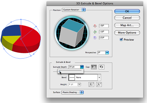 how to make rotation in illustrator