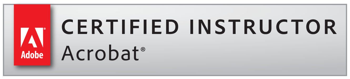 Adobe Certified Instructor Acrobat badge