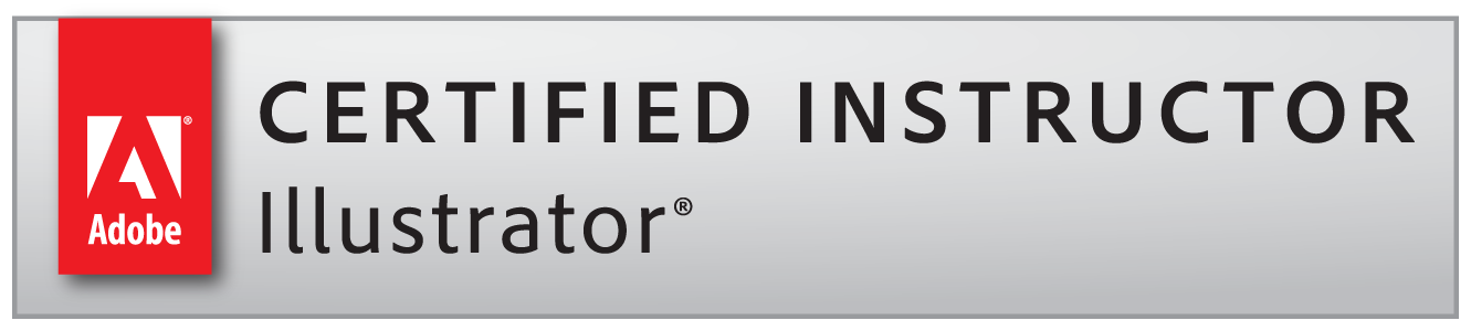 Adobe Certified Instructor Illustrator badge