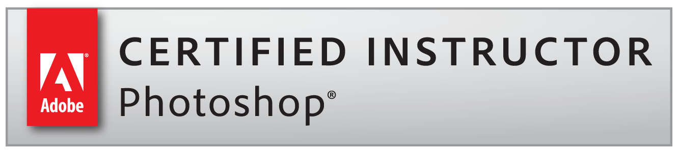Adobe Certified Instructor Photoshop badge